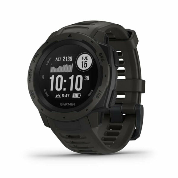 Garmin Instinct Rugged Outdoor Watch with GPS and Heart Rate Monitoring Graphi