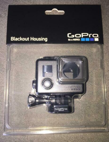 NEW GOPRO BLACKOUT HOUSING AHBSH-001 FOR HERO3, HERO3+, HERO4 CAMERAS