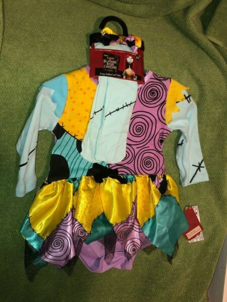 NWT Disney#x27;s Nightmare Before Christmas Sally Baby Costume 6 12 months