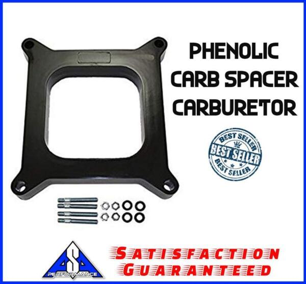 1quot; Phenolic Carb Spacer Carburetor Series Fits Edelbrock Holley Sbc Bbc Chevy $24.99