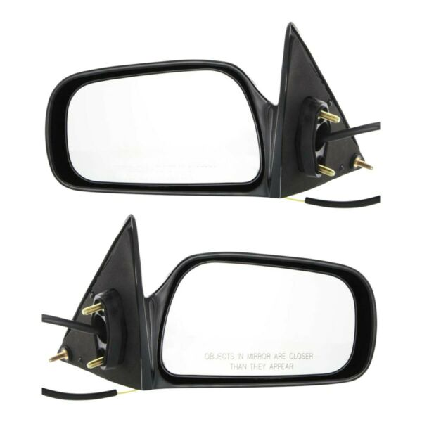 Mirrors Set of 2 Left-and-Right LH & RH for Camry TO1321132 TO1320132 Pair