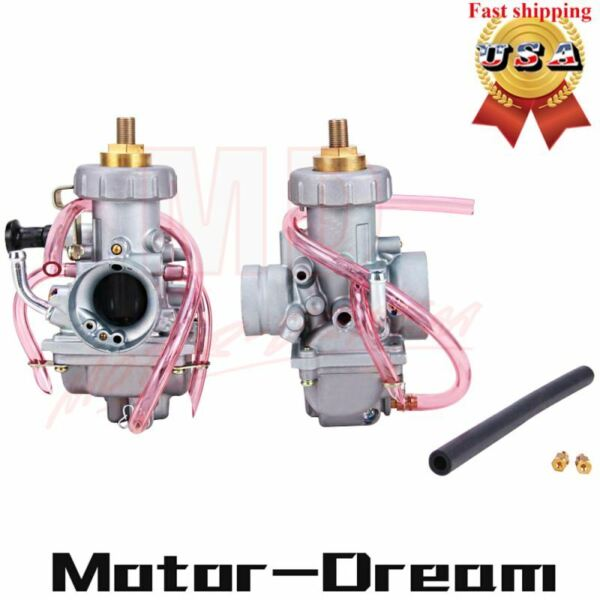 Left amp; Right Two Carburetors For Yamaha Banshee 350 YFZ350 1987 2006 ATV 29mm US $51.71