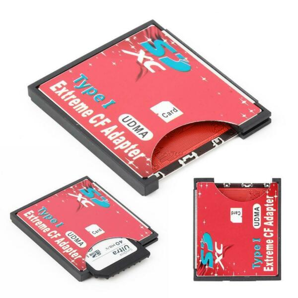WiFi SD SDHC SDXC To CF Type I Compact Flash Memory Card Adapter Reader  GA