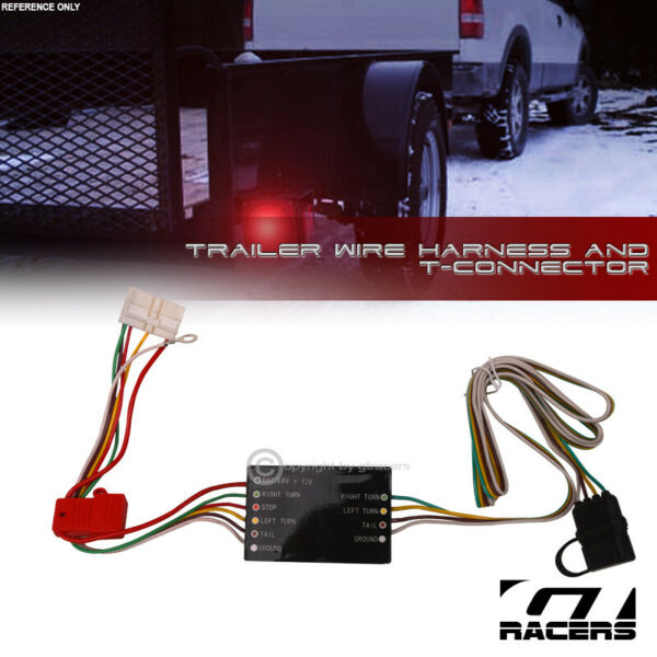 For 2014 2020 Acura MDX Trailer Hitch 4 Way Output Wire Harness T Connector Kit $33.00