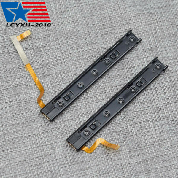 Left Right Set Slider slidering rail with Flex Cable for Nintendo Switch Joy Con