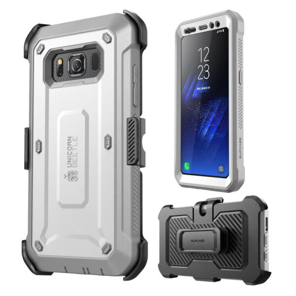 Original For Samsung Galaxy S8 Active SUPCASE Full Body Case Cover with Screen