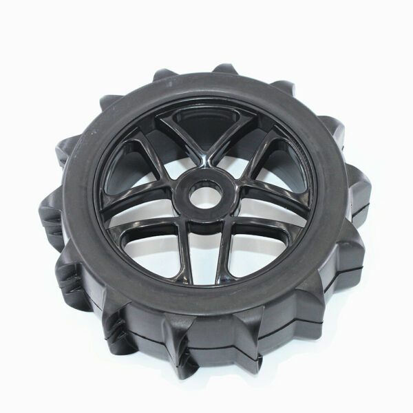 4pc RC 18 Paddles Buggy Tires Hex 17mm Wheels For Snow Sand Master Off Road Car