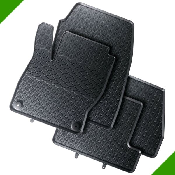 Ford Focus 3 Premium Car Foot Mat Rubber Mat Black 3#