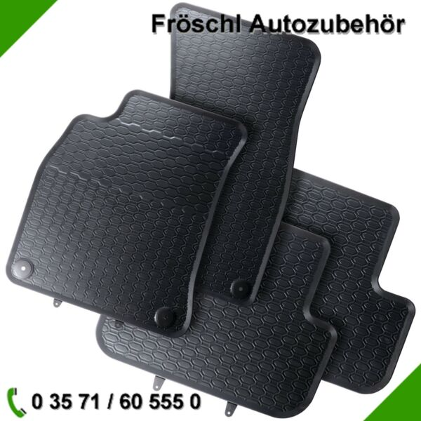 Audi A6 4G2 4G5 C7 Premium Car Foot Mat Rubber Mat Black 9#