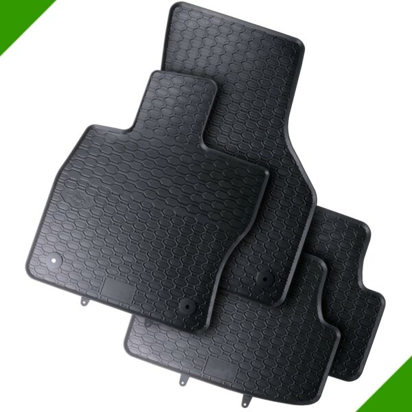 VW Golf VII 7 5G1 BE1 BA5 Premium Car Foot Mat Rubber Mat Black 3#