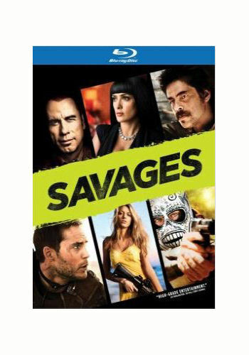 SAVAGES BLU RAY DISC TAYLOR KITSCH SALMA HAYEK Disc John Travolta