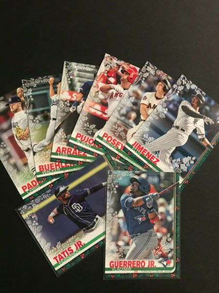 2019 Topps Holiday - Metallic. Pick Your Player. Complete Your Set. #1–200