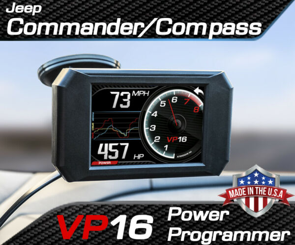 Volo Chip VP16 Power Programmer Performance Tuner for Jeep Commander Compass