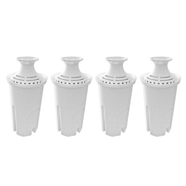 Fette Filter – 4 Pack of Compatible Brita Water Replacement Filters for Stand...