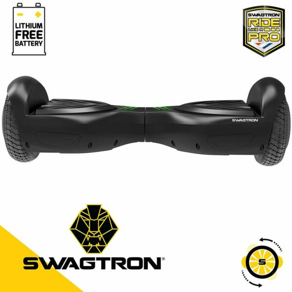 SWAGTRON Swagboard T882 Kids Hoverboard Dual 250W Motors w Lithium-Free Battery