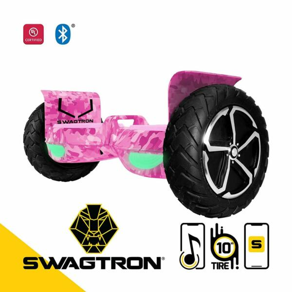 Swagtron Outlaw T6 Off-Road Self Balancing Electric Hoverboard Motorized UL2272