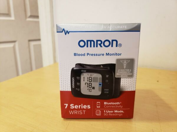 New In The Box OMRON 7 Series Wrist Blood Pressure Monitor BP6350 Ultra Silent