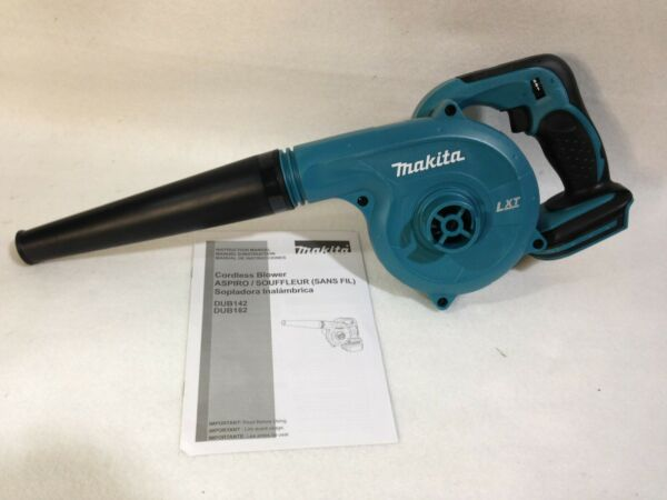 Makita DUB182Z 18-Volt LXT Lithium-Ion Variable Speed Cordless Blower Bare Tool