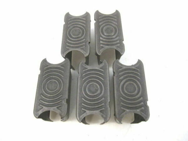 WWII Era US Army M1 Garand 8 rd Enblock Steel Clip or Clips - Lot of Five (5)