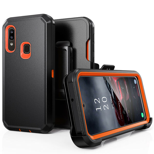 For Samsung Galaxy A01 A20 A50 Heavy Duty CaseBelt Clip fits Otterbox Defender $8.96