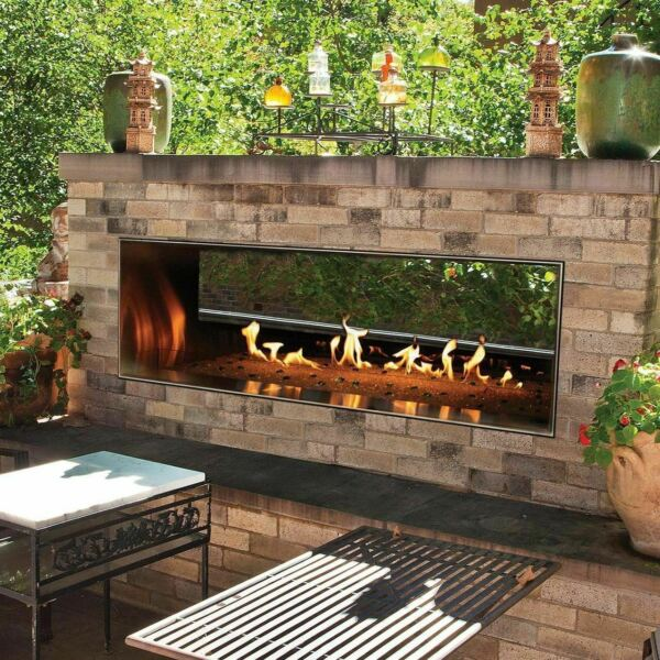 White Mountain Hearth by Empire Carol Rose 48-Inch Vent Free Natural Gas Outdoor