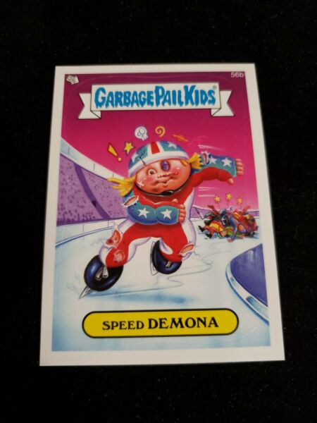 Garbage Pail Kids Series 1 56b Speed Demona 2014 GPK Card