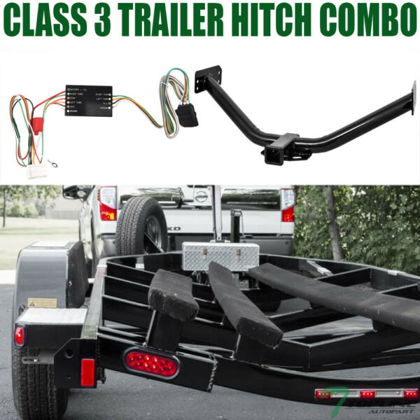 Topline For 2007 2013 Acura MDX Class 3 Trailer Hitch Receiver 2quot; With Wiring $187.00