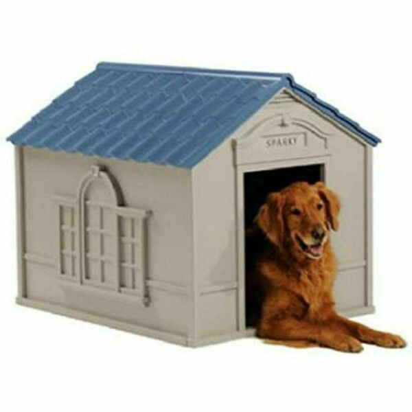 XL DOG KENNEL FOR X LARGE 100 lbs OUTDOOR PET CABIN INSULATED HOUSE BIG SHELTER $114.99