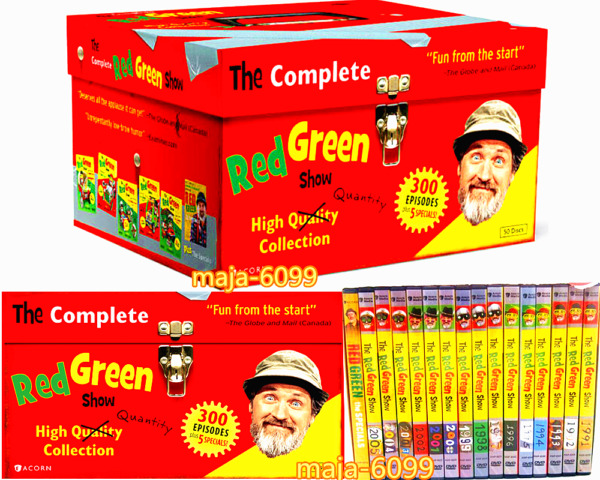 The Complete Red Green Show (DVD 2012 50-Disc Set) Free Shipment