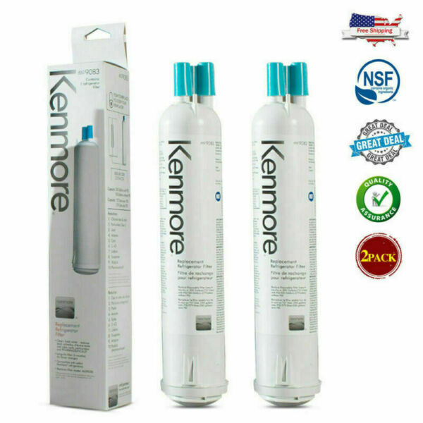 2Pack 9083 Kenmore 469083 Replacement Refrigerator Water Filter 9020 9030 9953