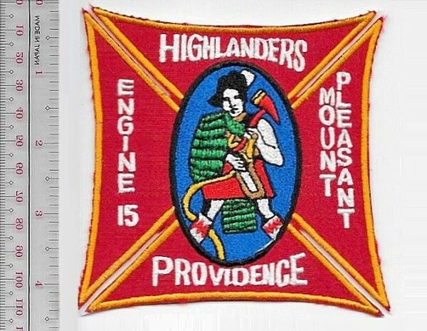Providence Fire Department Engine 15 Highlanders Mount Pleasant Rhode Island