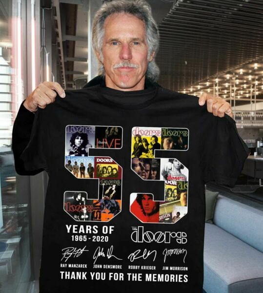 John Densmore 55 Years Of The Doors Signature Thank You For The Memories T Shirt