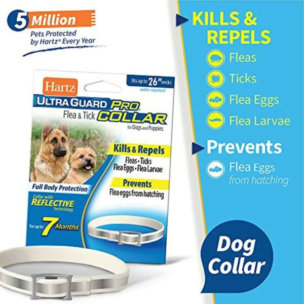 Dog Flea And Tick Prevention Treatment Control Medicine For Dogs and Puppies   $13.99