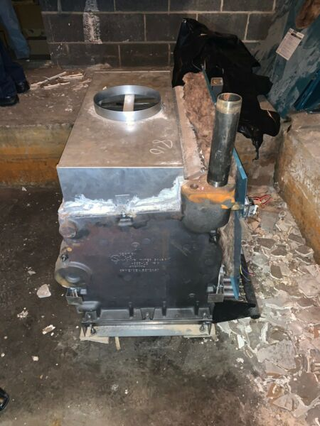 Burnham Boilers Commercial Two Natural Gas Chimney Vented Hot Water Boilers. $9945.00