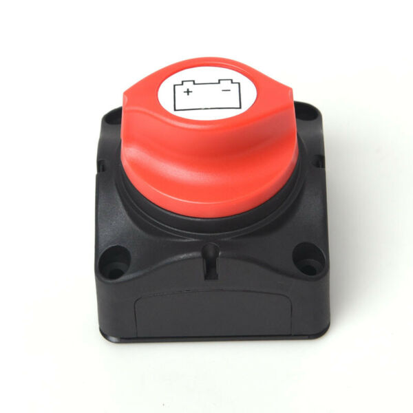 Car Marine Boat RV Disconnect Battery Switch Cut-off On Off Electrical Parts am