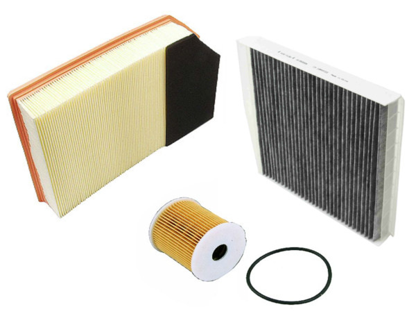 Air Filter Oil Filter AC Cabin Filter Carbon Volvo XC90 L5 L6 2003 2006 $34.84
