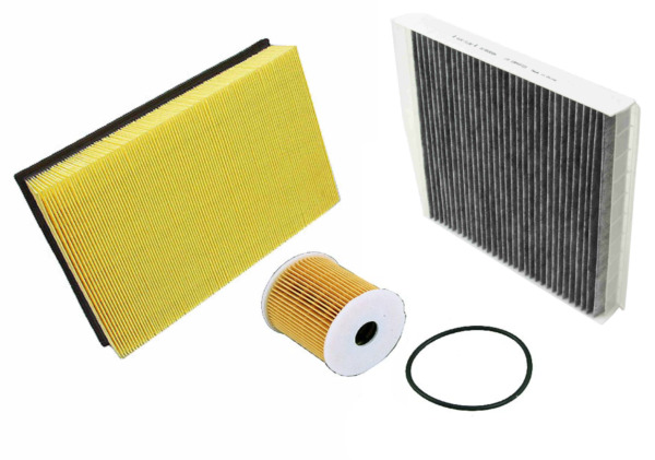 Air Filter Oil Filter AC Cabin Filter Carbon Volvo S60 S80 V70 XC70 2001 2009 $37.84