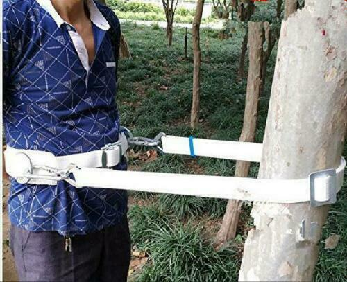 Tree Climbing Safety Belts Adjustable Lanyard Construction Harness Protective