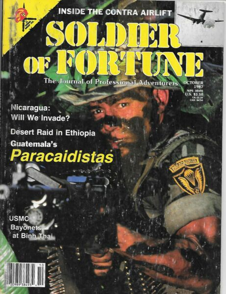 Soldier of Fortune magazine October 1987
