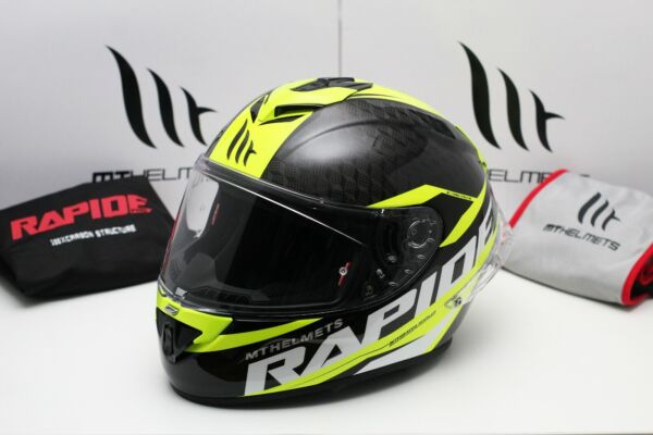 MT Rapide Pro Carbon Gloss Fluor Yellow $294.00