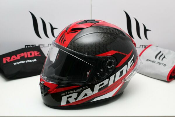 MT Rapide Pro Carbon Gloss Red $294.00