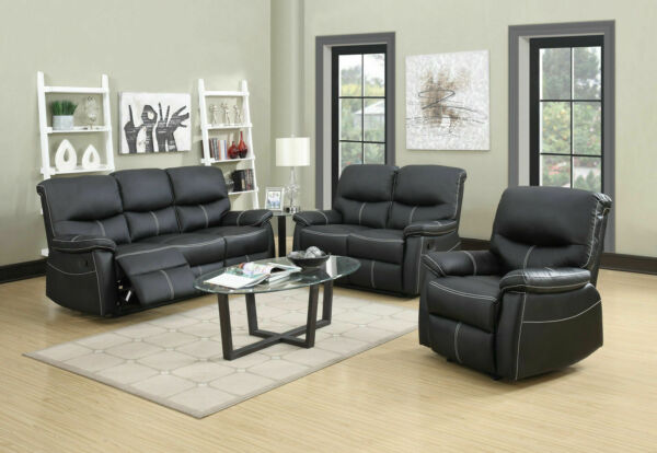 New Loveseat Chaise Couch Recliner Sofa Chair Leather Accent Chair PR $449.99