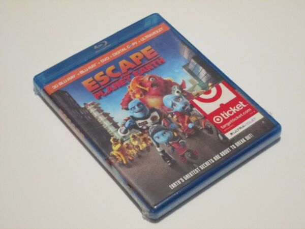 Escape From Planet Earth 3D Blu-ray  DVD Brand new $19.99