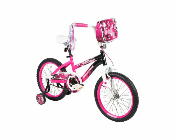 18quot; Girls Bike Air Zone Oasis Pink Streamers Training Wheels Ages 6 9 $119.99