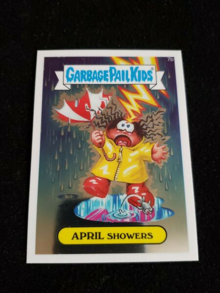 Garbage Pail Kids 2013 APRIL SHOWERS 7b Chrome GPK Topps