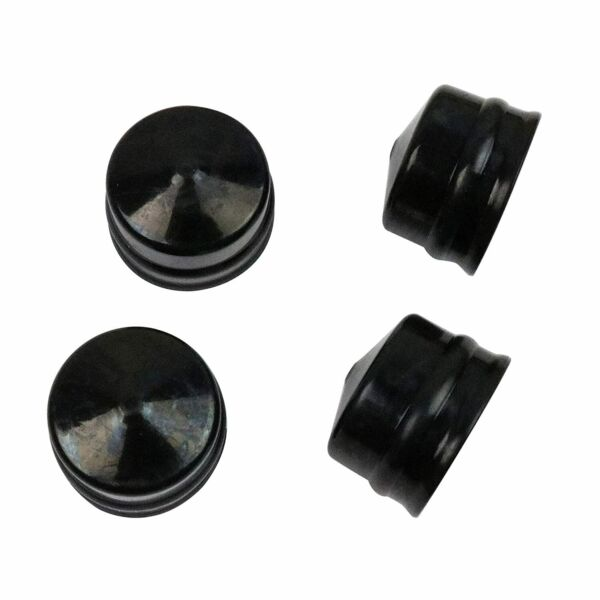 Wheel Axle Rubber Hub Caps Fit for Husqvarna Lawn Tractor Snow Blower 532104757