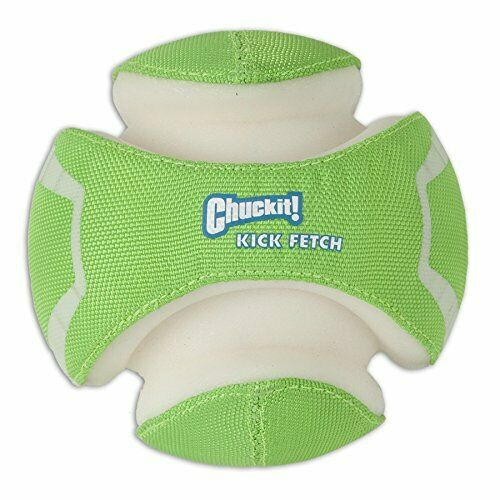 Chuckit Kick Fetch Toy Ball for Dogs Large Max Glow $14.40