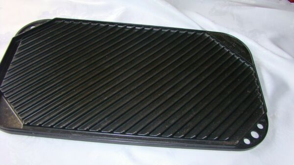 Reversible Pro Cast Grill Griddle by Nordic Ware VGC BLACK
