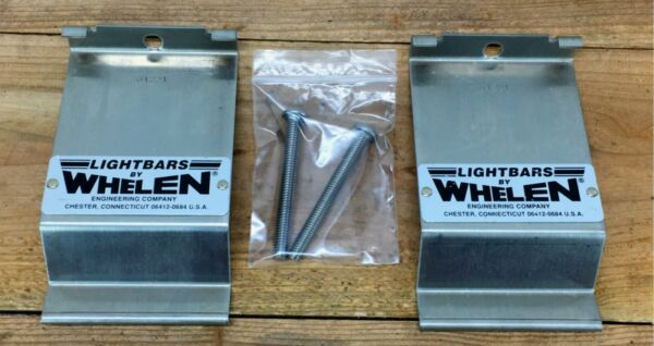 Vintage WHELEN Lightbar 61221 Gutter Strap Mounting Kit with Bolts NEW