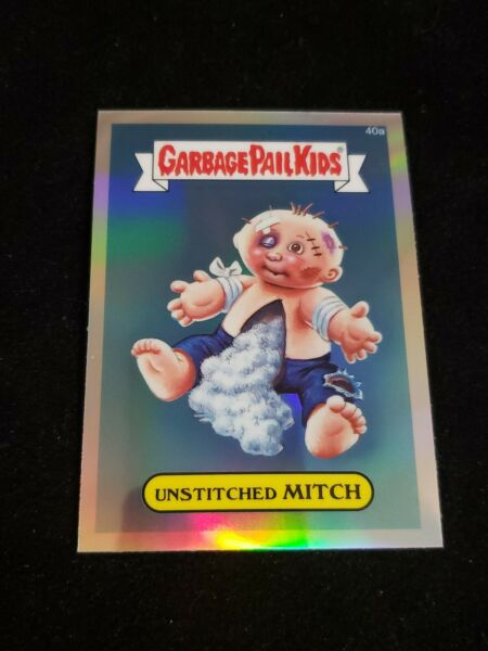 Garbage Pail Kids 2013 UNSTICHED MITCH 40a Chrome REFRACTOR GPK Topps